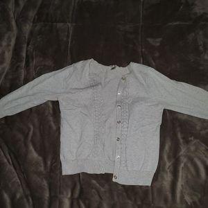 Cream colored cardigan
